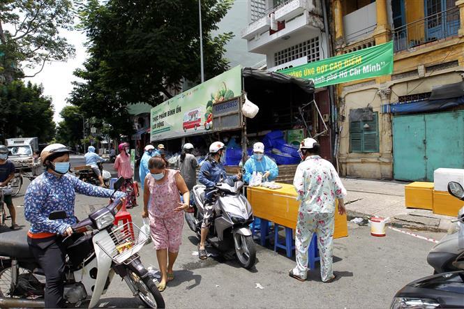 Thành phố Hồ Chí Minh nhộp nhịp, TP Hồ Chí Minh ai ở đâu ở yên đó, Thành phố Hồ Chí Minh trước thông tin siết chặt, Thành phố Hồ Chí Minh ai ở đâu ở yên đó