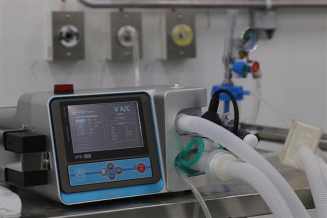 Máy thở, 200 máy thở chức năng cao chuyển vào Thành phố Hồ Chí Minh và các tỉnh phía Nam, máy thở chức năng, máy thở chức năng được chuyển vào TP Hồ Chí Minh và các tỉnh