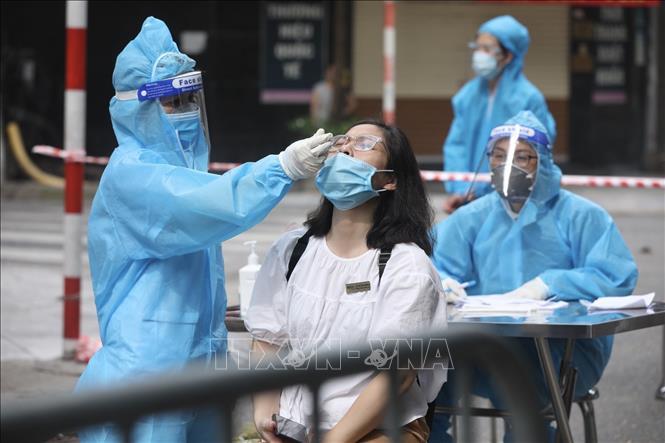 Thêm 2 ca dương tính tại quận Hoàng Mai, Hà Nội ghi nhận 41 ca mắc mới, Covid-19, dịch bệnh Covid-19, dương tính với Covid-19, Hà Nội thêm ca mắc mới Covid-19