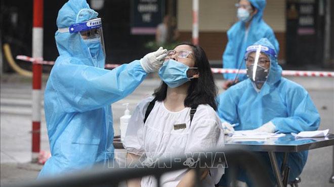 Thêm 2 ca dương tính tại Hoàng Mai, Hà Nội 41 ca Mắc Covid-19 trong 24 giờ qua