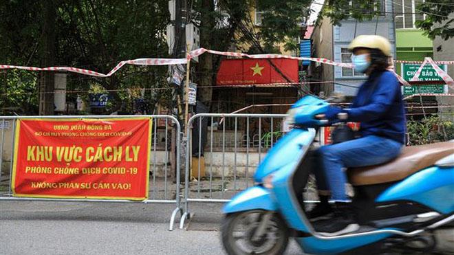 Từ 12 giờ ngày 16/9, nhiều quận huyện tại Hà Nội được mở lại một số cơ sở kinh doanh