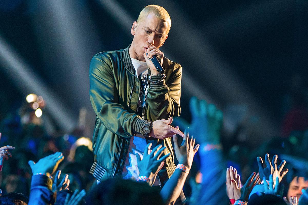 Eminem là tượng đài rapper da trắng