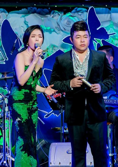 Lệ Quyên và Quang Lê