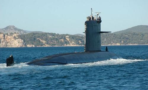 Tàu ngầm lớp Rubis của Pháp.