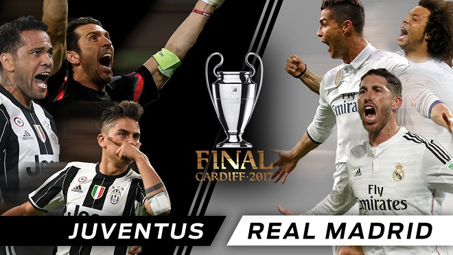 BIG BET: Dự đoán và tỉ lệ trận Chung kết UEFA Champions League Juventus - Real Madrid (01h45, 04/06)