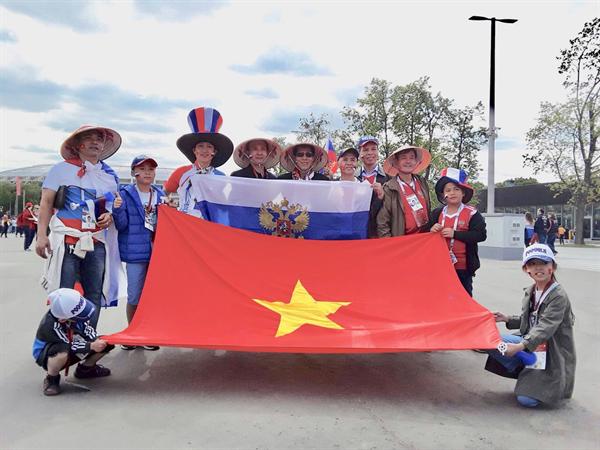 Ký sự World Cup: Người Việt với World Cup 2018 tại Nga