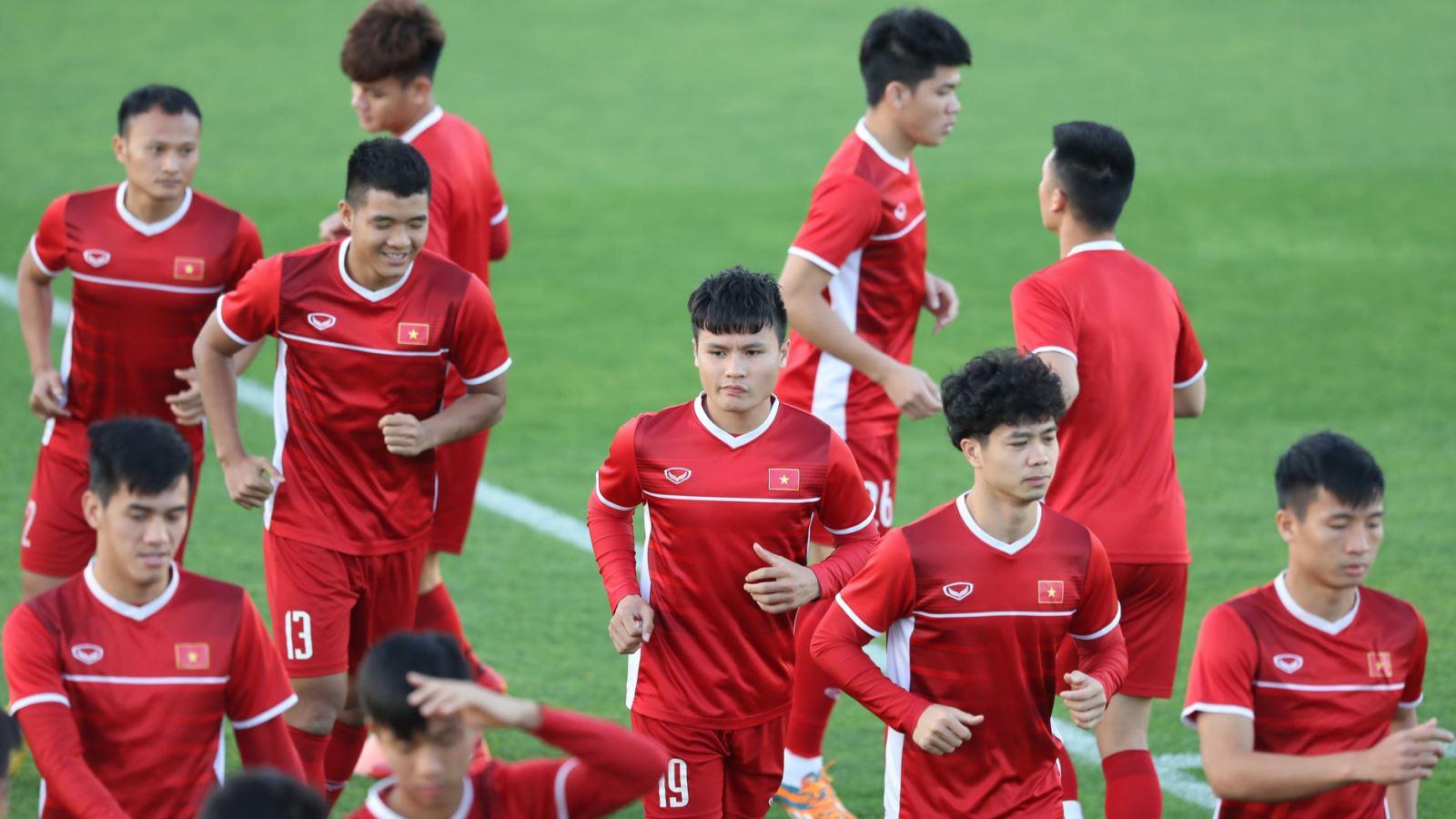 HLV Park Hang Seo: 'Cầu thủ Việt Nam tự tin trước trận gặp Iraq'