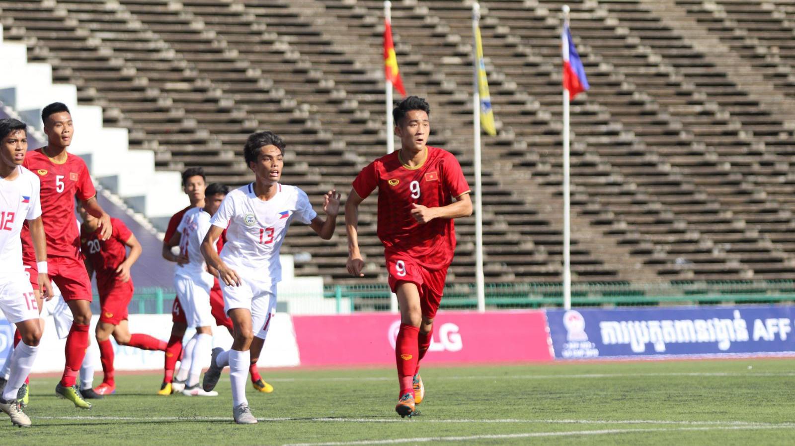 VIDEO U22 Việt Nam 2-1 U22 Philippines: 3 điểm nhọc...