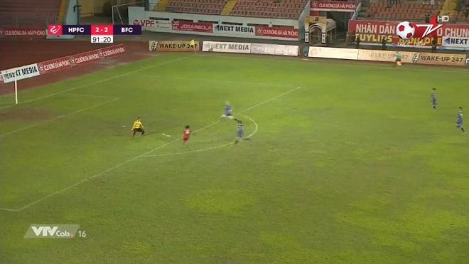 VIDEO: Bàn thắng và highlights Hải Phòng 3-2 Becamex Bình Dương, V League 2019 vòng 7