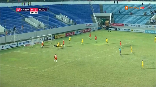 VIDEO Bàn thắng và highlights SHB Đà Nẵng 2-0 Nam Định