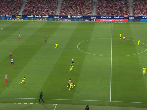 Joao Felix gây sốt khi lừa qua 3 cầu thủ để đem về quả 11m cho Atletico