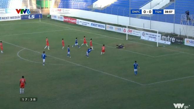 VIDEO bàn thắng và highlight Đà Nẵng 1-2 Than Quảng Ninh: Fagan tỏa sáng