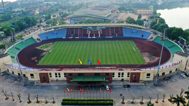 Sân Phú Thọ có thể tổ chức bóng đá nam SEA Games 31