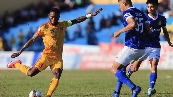 Video clip bàn thắng trận Thanh Hóa 1-1 Nam Định