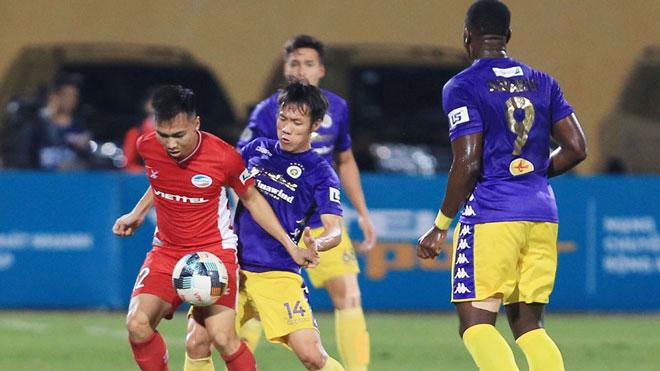 Tấn Tài và Thành Chung bị treo giò, Hà Nội gặp khó trước Sài Gòn FC
