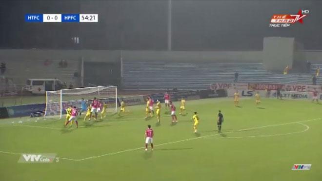 Video bàn thắng Hà Tĩnh 1-0 Hải Phòng: Chiến thắng đầu tiên