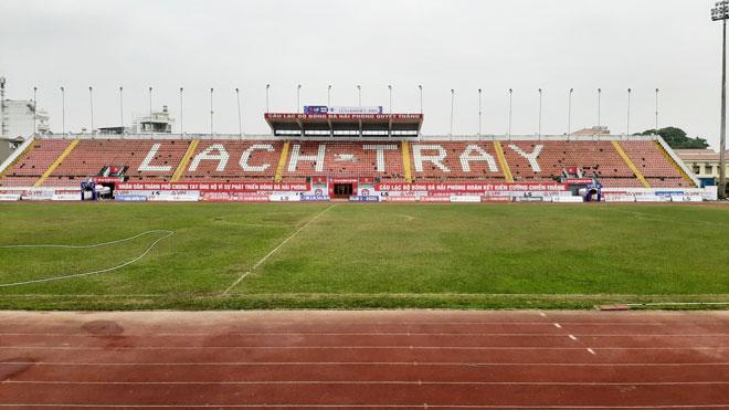 Sân nhà CLB Hải Phòng sẽ được nâng cấp