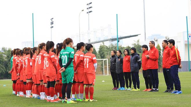 Đội tuyển nữ Việt Nam sắp hội quân