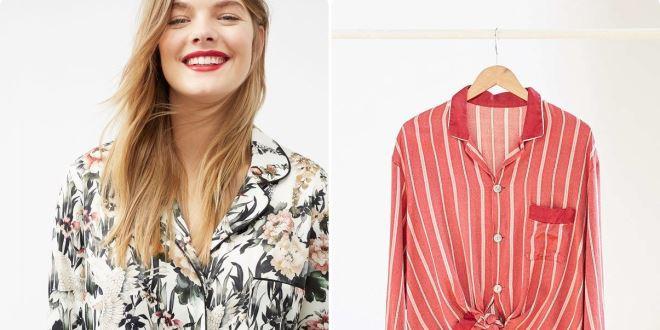 Hot trend: 9 chiếc áo Pyjama bạn hoàn toàn có thể mặc đi khắp nơi
