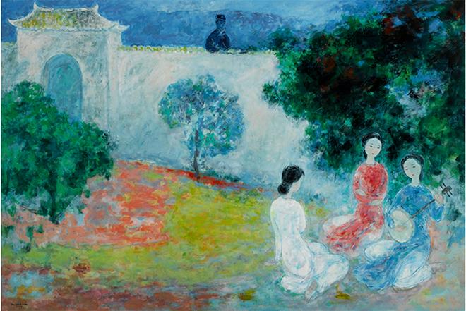 Tranh Việt có lép vế tại nhà đấu giá Sotheby's ở New York?