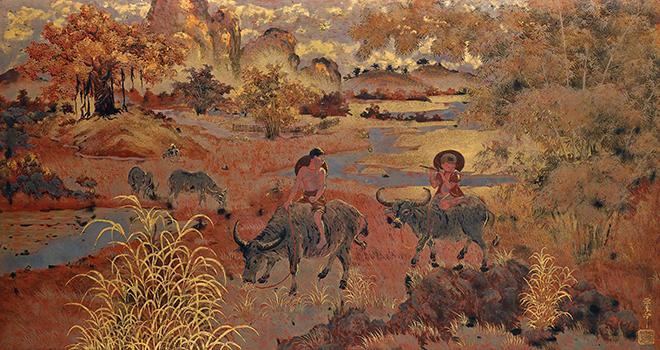 Hai tranh của Nguyễn Phan Chánh, Phạm Hậu vừa bán hơn 21 tỷ đồng