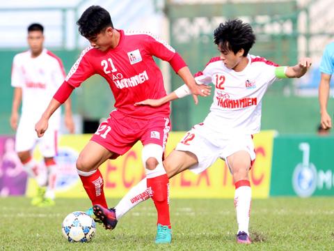HAGL của Phan Thanh Hậu đoạt ngôi nhất bảng B với 3 trận bất bại. Ảnh: Anh Hòa