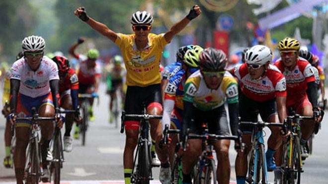 Ngoại binh thắng thế ở giải xe đạp lớn nhất Việt Nam