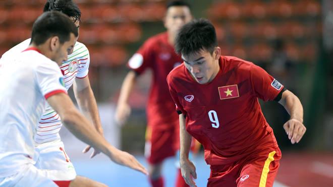 U20 futsal Việt Nam tiếp 'may mắn' cho U20 Việt Nam
