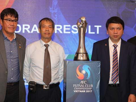 Đại diện Việt Nam là CLB Thái Sơn Nam đặt mục tiêu HCĐ trong lần đầu tiên được đăng cai giải đấu. Ảnh: Quang Huy