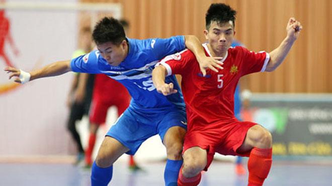 Futsal Khánh Hòa quyết 'đốn ngã' Thái Sơn Nam ở giải VĐQG 2017
