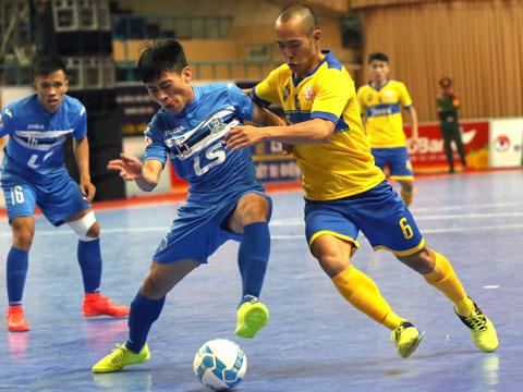 Thái Sơn Nam (xanh) đang chiếm lợi thế lớn trong cuộc đua vô địch năm nay. Ảnh: Quang Liêm