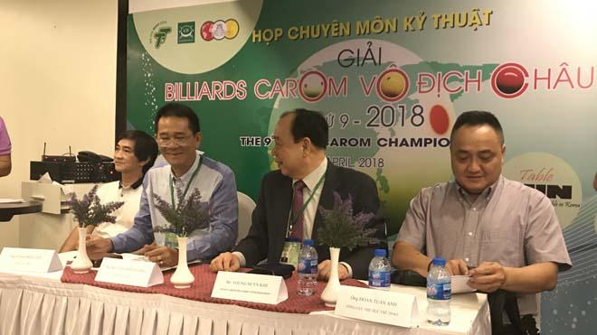 Việt Nam quyết giữ ngai vàng giải Billiards carom vô địch châu Á
