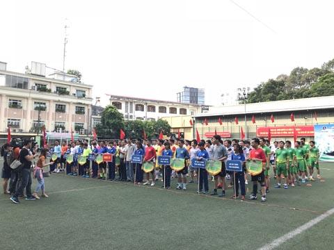 Các đội tham dự giải bóng đá Sở Xây dựng TP.HCM 2018