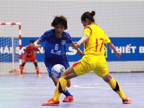 Cựu binh Nguyễn Thị Châu vẫn là hy vọng của đội tuyển nữ lần này. Ảnh: LG