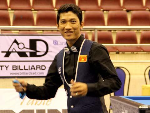 Ngô Đình Nại đã 2 lần vô địch châu Á carom 1 băng. Ảnh: Anh Hòa