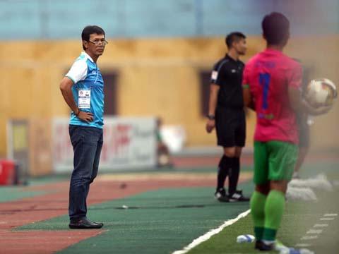 3 trận thắng liên tiếp đưa thầy trò HLV Công Minh trở lại với cuộc đua lên hạng. Ảnh: VPF