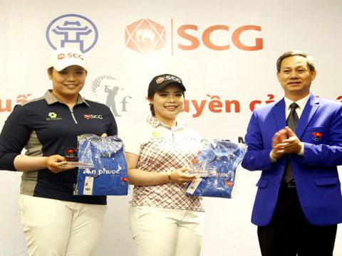 Chị em May - Mo sẽ tái ngộ làng golf Việt trong năm nay theo thông báo của BTC. Ảnh: TM