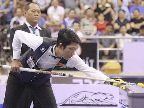 Ngô Đình Nại đang là thần tượng của rất đông người yêu billiards nước nhà. Ảnh: LG