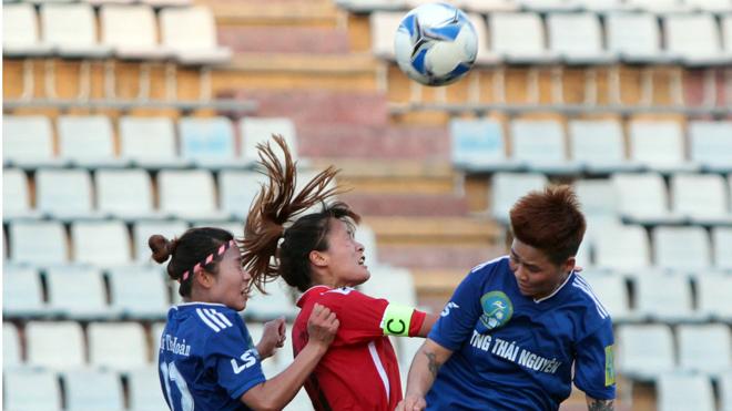 Giải nữ VĐQG – Cúp Thái Sơn Bắc 2018: TNG Thái Nguyên có 3 điểm đầu tay