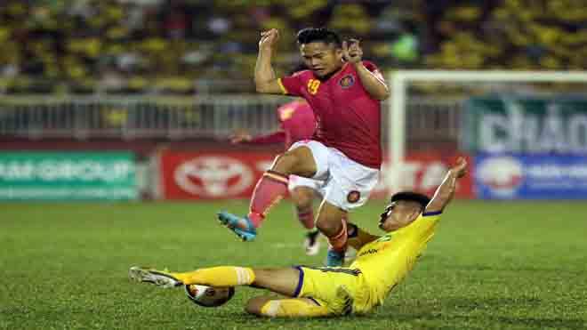 Sài Gòn FC đấu SLNA thiếu 'sao' U23 Việt Nam