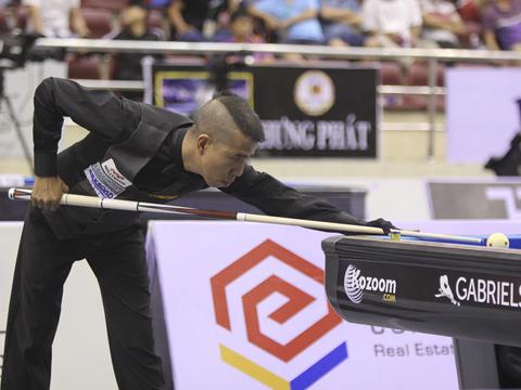 Trần Quyết Chiến đã viết kỳ tích cho bản thân ở giải đấu lớn trên sân nhà. Ảnh: LG
