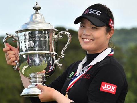 Ariya nâng cao Cúp vô địch US Open lịch sử. Ảnh: TM
