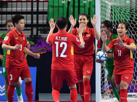 Đối thủ ở bán kết của đội tuyển Việt Nam sẽ là ĐKVĐ Iran. Ảnh: AFC