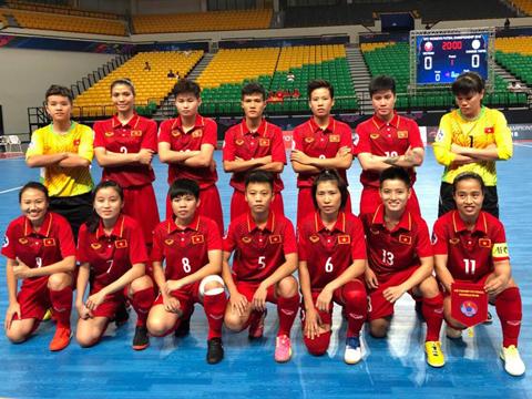 Các học trò của HLV Trương Quốc Tuấn đã làm được nhiều hơn kỳ vọng. Ảnh: AFC