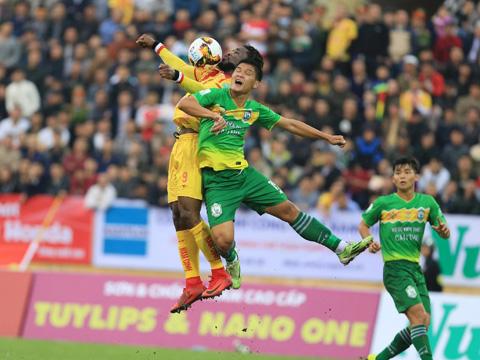 XSKT Cần Thơ xuống hạng, bóng đá miền Tây đã sạch bóng ở sân chơi V-League từ mùa giải 2019. Ảnh: VPF