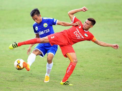 Viettel có hơn 90% là CLB thăng hạng V-League 2019. Ảnh: VPF