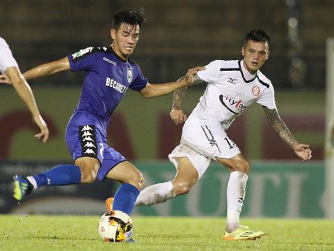 Tiền đạo số 1 của B.Bình Dương năm nay hứa hẹn sẽ khiến HLV Park Hang Seo đau đầu trong lựa chọn nhân sự ở hàng công đội tuyển thời gian tới. Ảnh: VPF