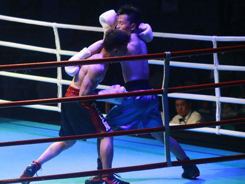 Các võ sĩ đam mê boxing đã có một sân chơi lớn để tranh tài. Ảnh: BH