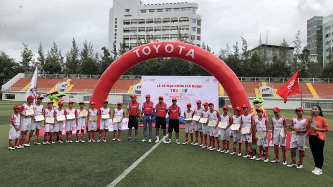 HLV Lê Huỳnh Đức chọn 18 cầu thủ nhí sang Nhật du đấu