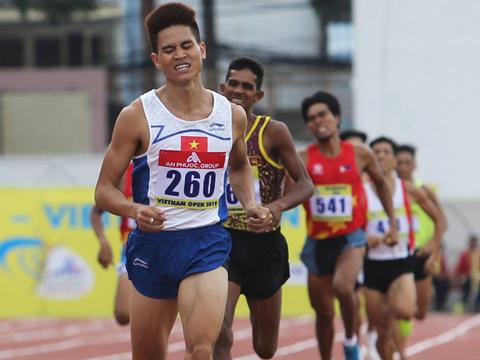 Vận động viên Dương Văn Thái. Ảnh: LG